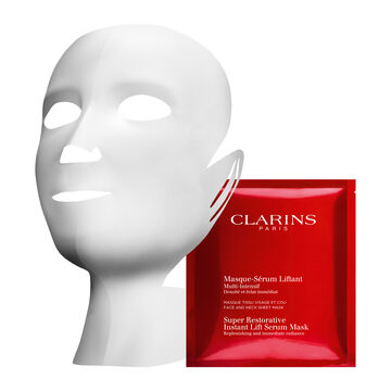 """Maschera Siero di tessuto """"Effetto Lifting"""" per viso e collo"""