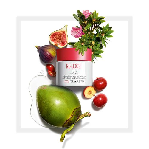 My Clarins RE-BOOST crema idratante freschezza