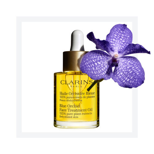 Huile Orchidée Bleue - Pelle disidratata