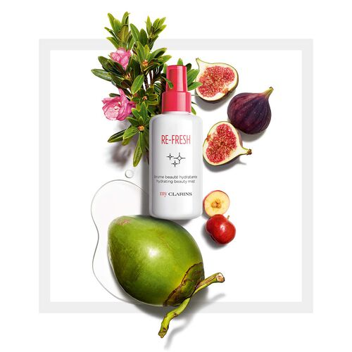 My Clarins RE-FRESH spray idratante bellezza immediata