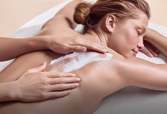 Donna che riceve un massaggio