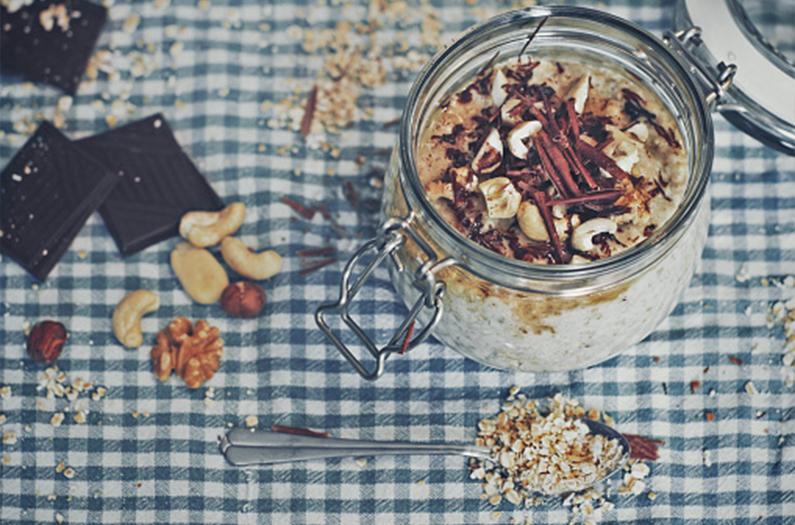 Il Porridge Bonne Mine, don't worry, eat healthy!