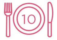 10 pasti scolastici