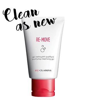 My Clarins RE-MOVE gel detergente purificante