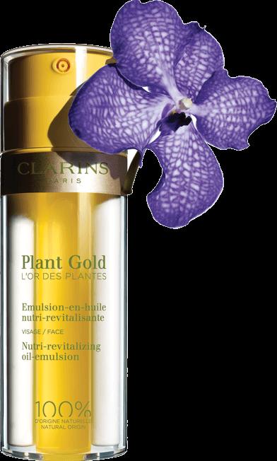 emulsione-olio nutriente e rivitalizzante plant gold