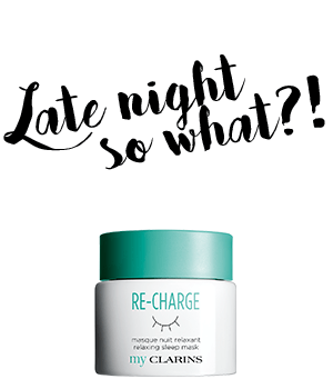 RE-CHARGE maschera notte rilassante