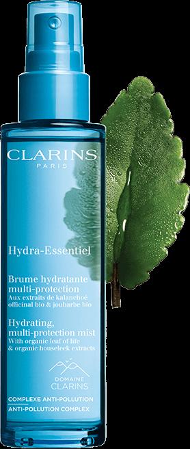 hydra-essentiel hydrating spray multiprotezione