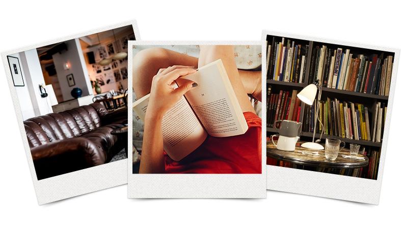 3 luoghi dove mettersi a leggere un libro con calma