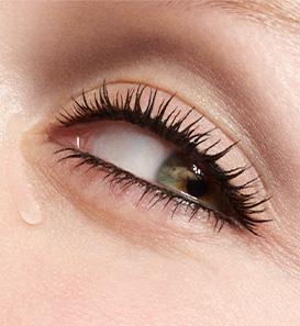 Occhi con lacrime